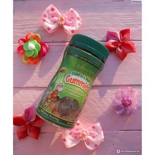 Viên nhai Vitamin va khoa ng châ t vi hoa qua cho trẻ puritan s pride Children s Multivitamins Gummies 60 viên 6