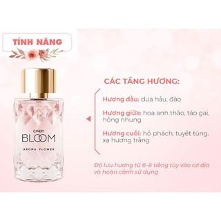 Hình ảnh Nước Hoa Cindy Bloom Aroma Flower 30ml chính hãng-5