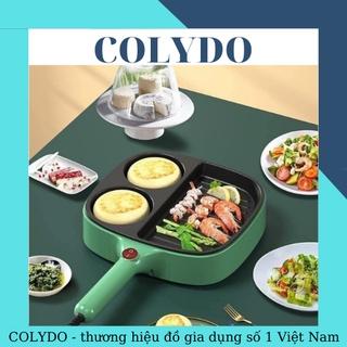 Chảo Nướng Điện Bếp Nướng Mini, Chiên Trứng Đa Năng Chống Dính Làm Bánh Sandwich - COLYDO thumbnail