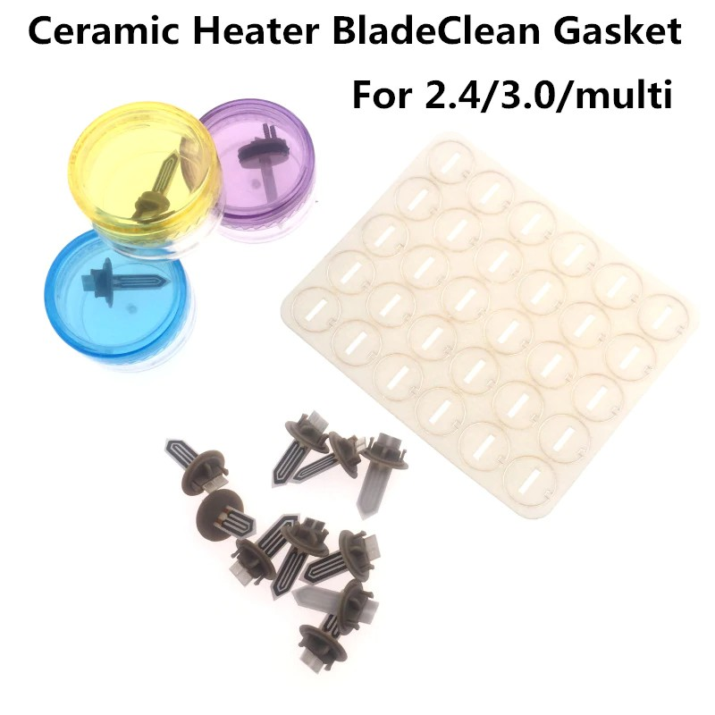 Replacement Ceramic Heater Blade Clean Gasket Heating Stick for iqos 2.4/2.4Plus /3.0/multi New Vape Vapor Accessories