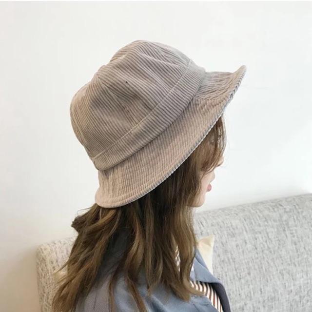 [ Sẵn ]Mũ màu ghi vintage