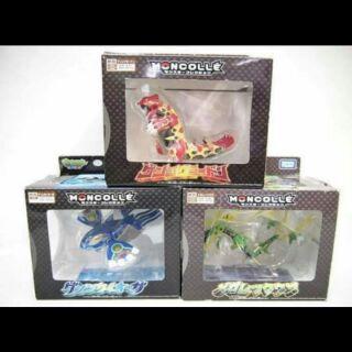 Mô hình pokemon Bộ 3 thời tiết full box