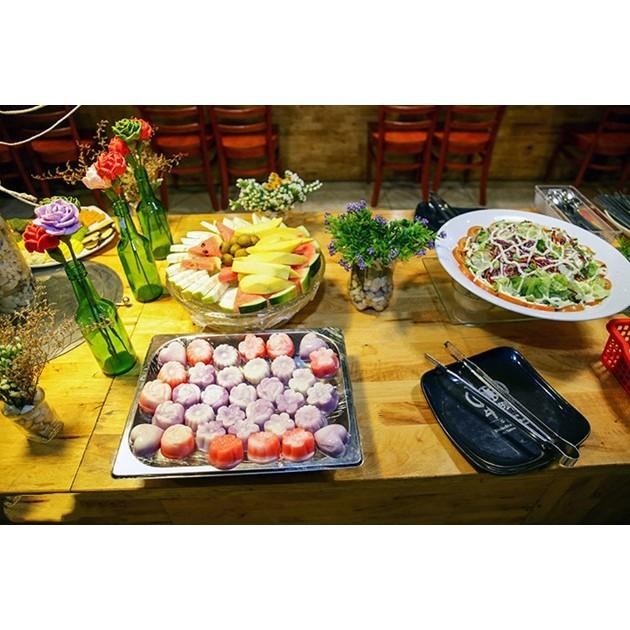 Hồ Chí Minh [Voucher] - Buffet trưa hoặc tối nướng 40 món tại ChinKu Được gọi lẩu 01 người 39k