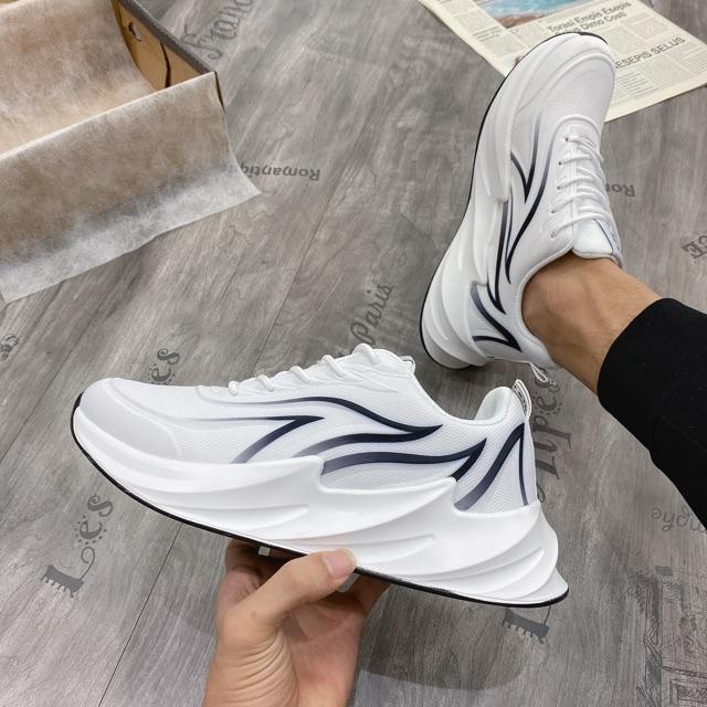[FREE SHIP-TẶNG TẤT] Giày thể thao nam, giày vải nam đế sóng 3D cao cấp 2920