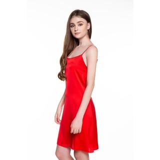 DREAMY VS04 Váy ngủ lụa cao cấp hai dây quyến rũ dáng suông thumbnail