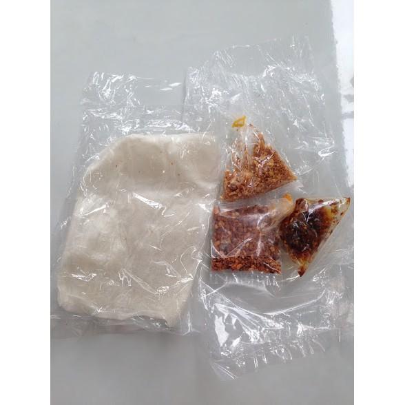 10 bịch Bánh tráng Muối Tây Ninh - Muối tôm, satế, Tỏi phi (Chính gốc Gò Dầu Tây Ninh)