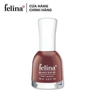 Sơn thường Felina 18ml - Màu Đỏ Mận Chín - Code CS732