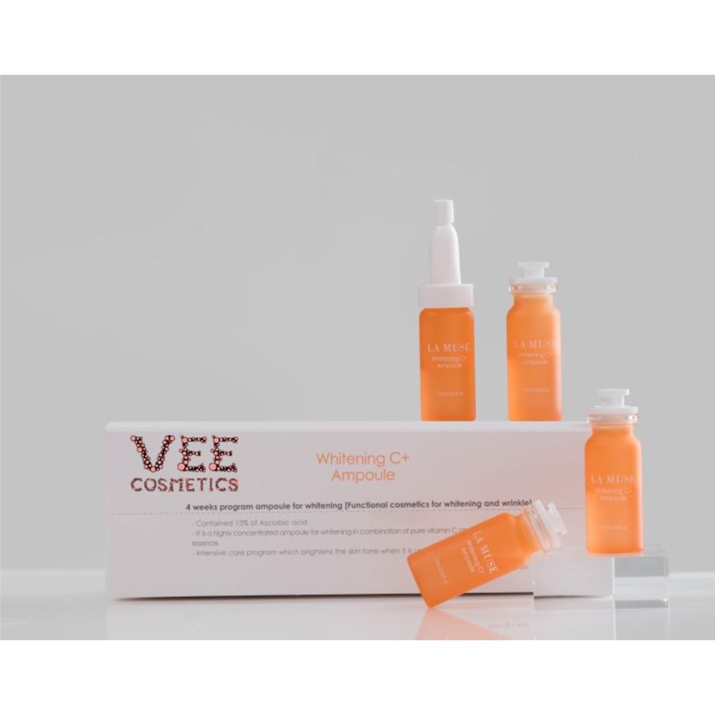 serum vitamin C 💖 FREESHIP 💖 serum vitamin C tươi trắng da trong 4 tuần La Muse