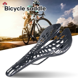 Bicycle Saddle Durable Saddle 24 Degree Downdip Wing Design Easy to Install Waterproof For Bike