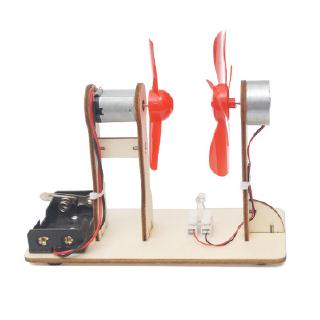 DIY – máy phát điện tuabin gió mini