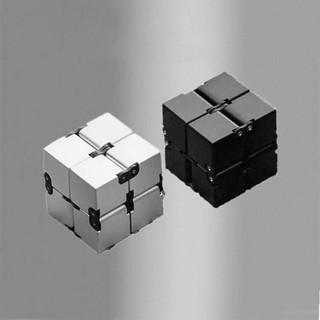 [ LOẠI TỐT ] Khối Lập Phương (Rubik) Vô Cực INFINITY CUBE Thần Kỳ (Đen) [Store Thượng Hạng]