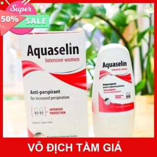Aquaselin intensive women dành cho nữ - Lăn khử mùi ngăn mùi hôi cơ thể và vùng nách