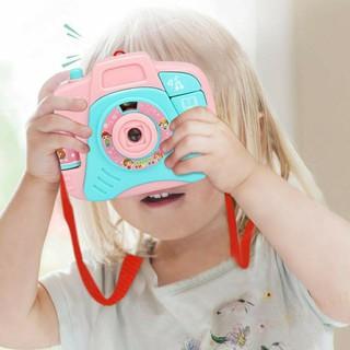 đồ chơi máy ảnh phát nhạc có đèn chiếu cho bé