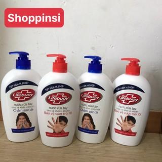 Nước rửa tay Lifebouy 500gr bảo vệ khỏi vi khuẩn