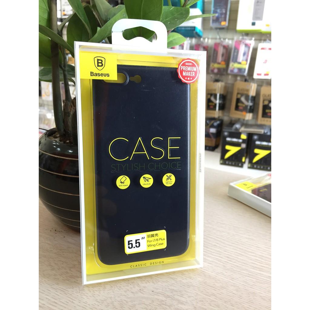 Ốp dẻo cho iPhone 8 Plus-hiệu Baseus