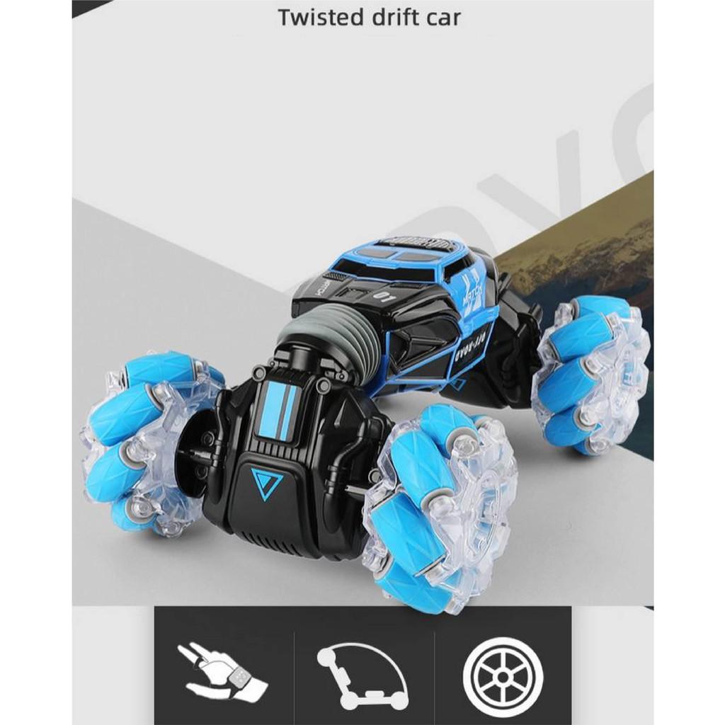 XE Ô TÔ TWISTED DRIFT CAR BIẾN HÌNH 360 ĐIỀU KHIỂN BẰNG CỬ CHỈ TAY VÀ REMOTE TỪ XA