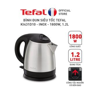 Bình đun siêu tốc Tefal KI431D10 - Inox - 1800W, 1.2L thumbnail
