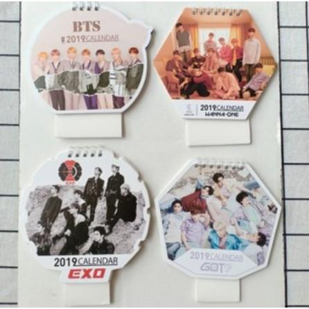 Lịch BTS Wanna One Exo Got7