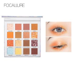 Hộp phấn mắt FOCALLURE 16 màu thiết kế 4 trong 1 chuyên dụng tiện lợi 1pc 16.64g thumbnail
