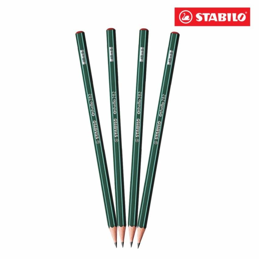 Bộ 4 cây bút chì gỗ STABILO Othello PC282-4B-C4 - 3163190 , 276731970 , 322_276731970 , 75000 , Bo-4-cay-but-chi-go-STABILO-Othello-PC282-4B-C4-322_276731970 , shopee.vn , Bộ 4 cây bút chì gỗ STABILO Othello PC282-4B-C4