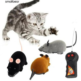 💮🐬Animal Toys RC Wireless Remote Control Rat Mouse Toy for Cat Dog Pet