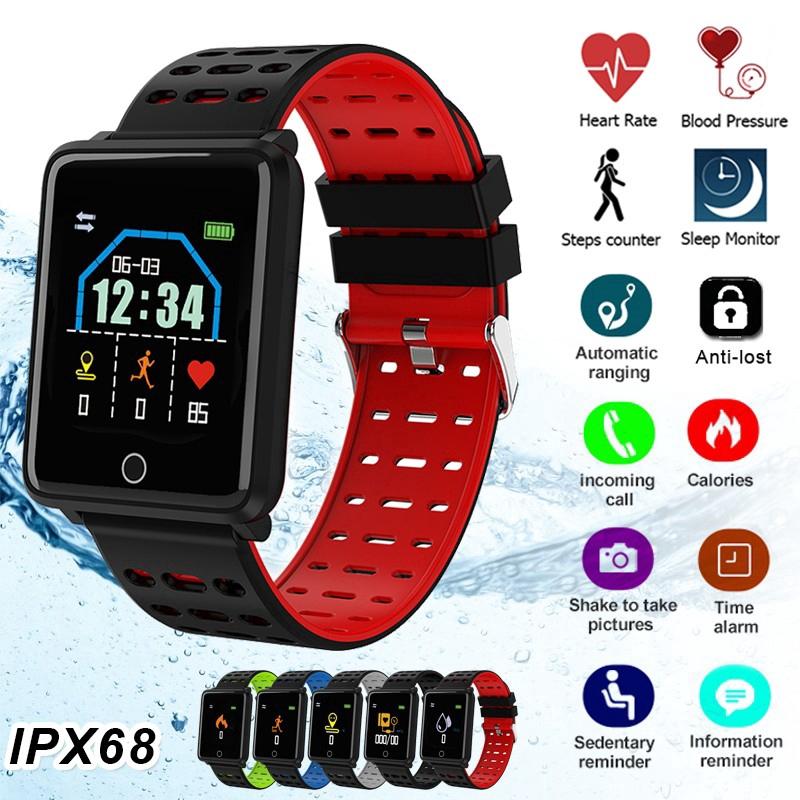 Đồng Hồ Thông Minh F3 Chống Nước Ip68 Theo Dõi Sức Khỏe Kết Nối Bluetooth Cho Ios Android