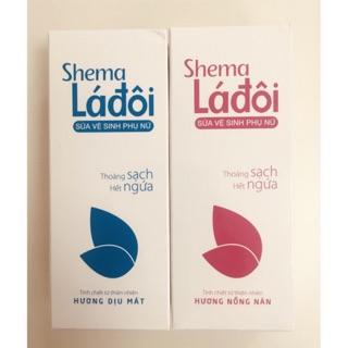 Sữa vệ sinh phụ nữ Shema Lá đôi - Thoáng sạch, hết ngứa thumbnail