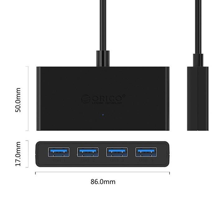 [ Hàng Hot]  Bộ chia 4 cổng USB 3.0 Orico G11-H4-U3 - RẺ NHẤT VN