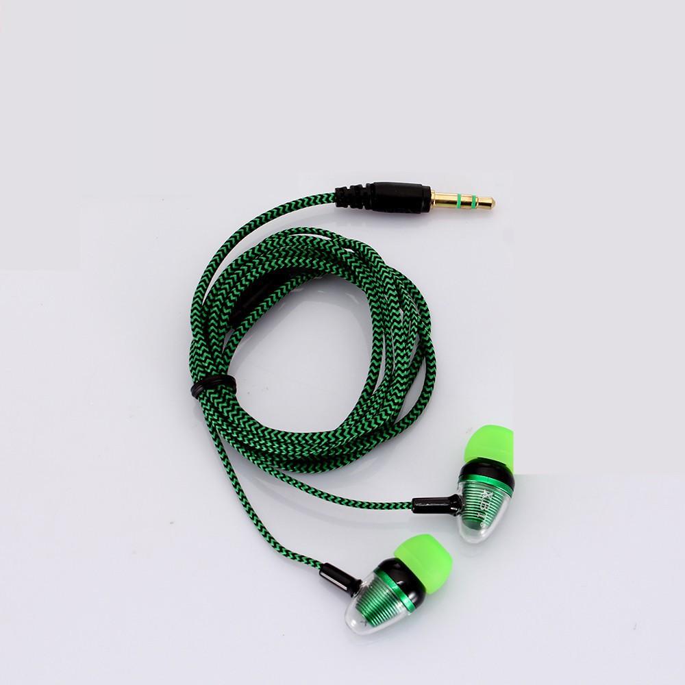 Tai nghe nhét tai với jack 3.5mm cho điện thoại/ máy MP3