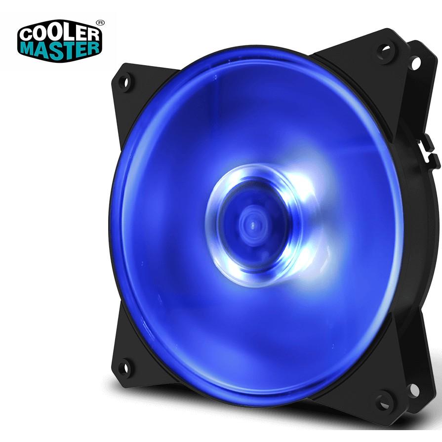 Fan Case 12cm MasterFan MF120L (Led Xanh) - Hiệu năng mạnh mẽ, quay êm