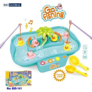 Bộ đồ chơi câu vịt cao cấp có nhạc cho bé BBT Global 889-141