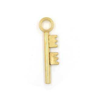 Close Up Magic Trick Golden Moving Skeleton Key Ghost Haunted Visual Prop