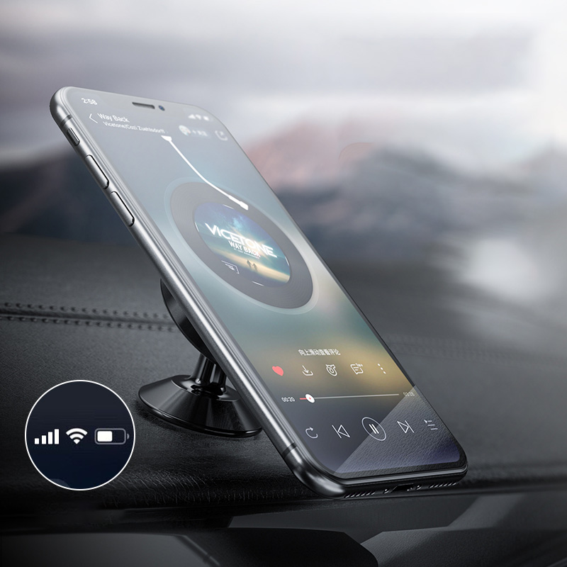 Giá đỡ điện thoại có từ tính sử dụng tiện lợi cao cấp trên ô tô