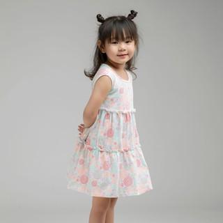 Đầm váy thun hai tầng BAA BABY kiểu dáng xinh xắn, dễ thương cho bé gái - GT-AD22C thumbnail