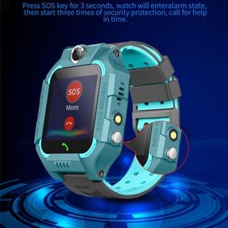 [Mã ELFLASH5 giảm 20K đơn 50K] Đồng hồ trẻ em lắp sim nghe gọi định vị màn hình cảm ứng chống nước hỗ trợ đèn pin