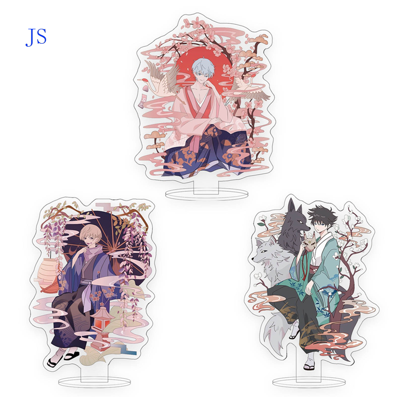JS 16cm Anime Jujutsu Kaisen Peripheral Acrylic Standing Figure Fans Collectibles