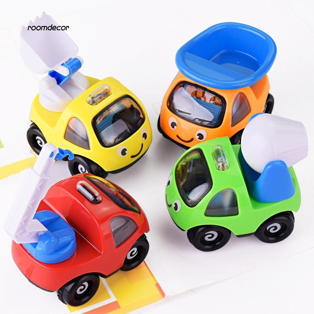 RMDC_Children Kids Mini Simulation Engineering Car Truck Vehicle Model Toy Gifts