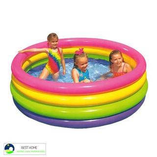 [Đồ Chơi Vận Động Tư Duy] Bể bơi phao 4 tầng Intex 56441 cho bé