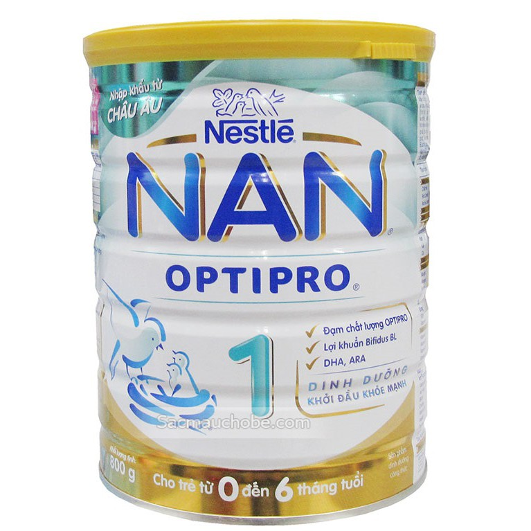 Sữa NAN Việt số 1 800g