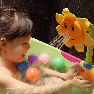 ♕Baby Funny Water Game Bath Play Toy Sunflower Shower Faucet Bathroom Supply