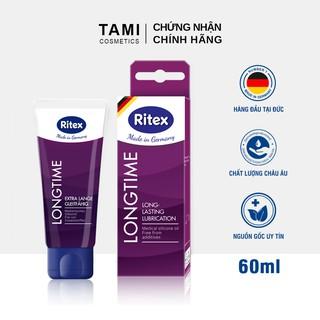 Gel bôi trơn RITEX LONGTIME kéo dài thời gian gốc silicone hàng đầu tại Đức 60ml (Có che tên) RI-LONGTIME thumbnail