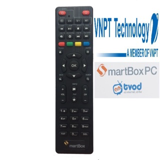 Yêu ThíchRemote điều khiển đầu thu VNPT SMARTBOX SMART BOX
