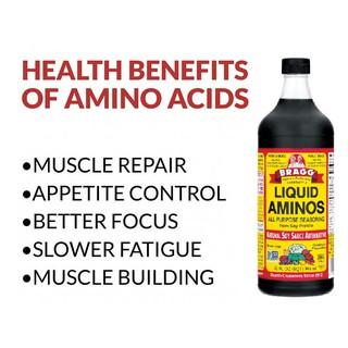 Nước Tương Ăn Kiêng BRAGG Liquid Aminos All Purpose Seasoning (Chai 473ml) – USA