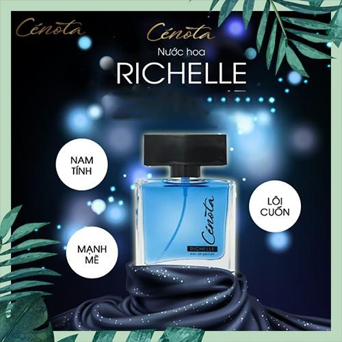 Nước hoa nam Cénota Richelle, nước hoa nam mạnh mẽ, quyến rũ - mã PM06 Lici