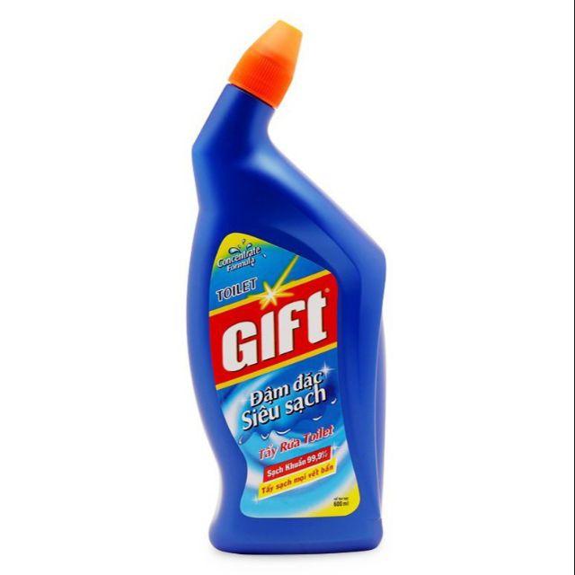 Nước tẩy rửa toilet Gift đậm đặc 600ml