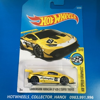 Xe Hot Wheels – Lambor ghini Huracan LP620-2 Super Trofeo
