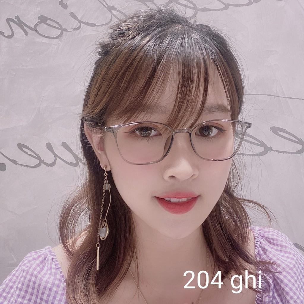 Gọng Kính Cận Gọng Dẻo Bền Đẹp Hàn Quốc 204 Gstore