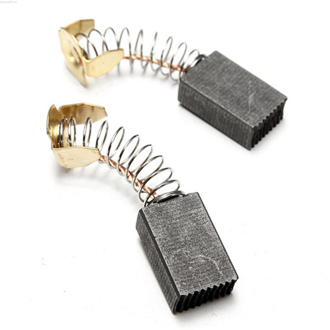 Xiaxuel 2pcs New 15*10*6mm Carbon Brushes Bush Repairing Part for Generic Electric Motor