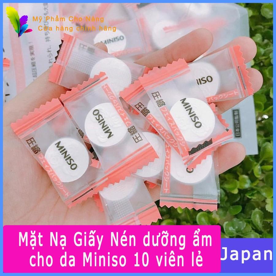 Mặt Nạ Giấy Nén dưỡng ẩm cho da Miniso Nhật Bản 10 viên lẻ - 21640399 , 1561654418 , 322_1561654418 , 9000 , Mat-Na-Giay-Nen-duong-am-cho-da-Miniso-Nhat-Ban-10-vien-le-322_1561654418 , shopee.vn , Mặt Nạ Giấy Nén dưỡng ẩm cho da Miniso Nhật Bản 10 viên lẻ