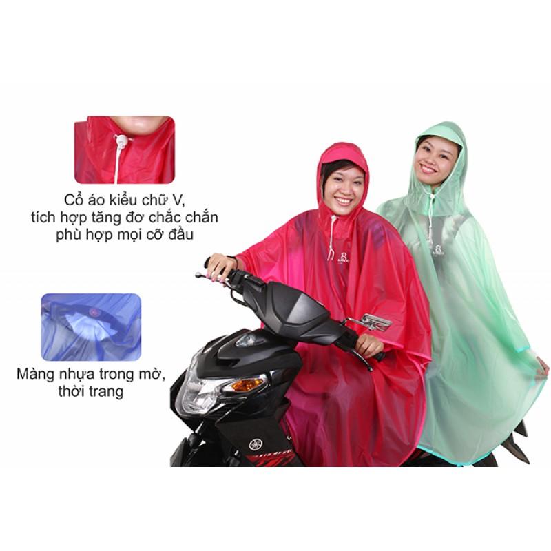 Áo mưa b ướm Rando trong màu thời trang